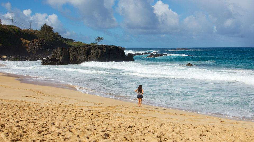 North Shore beaches on Oahu, Hawaii