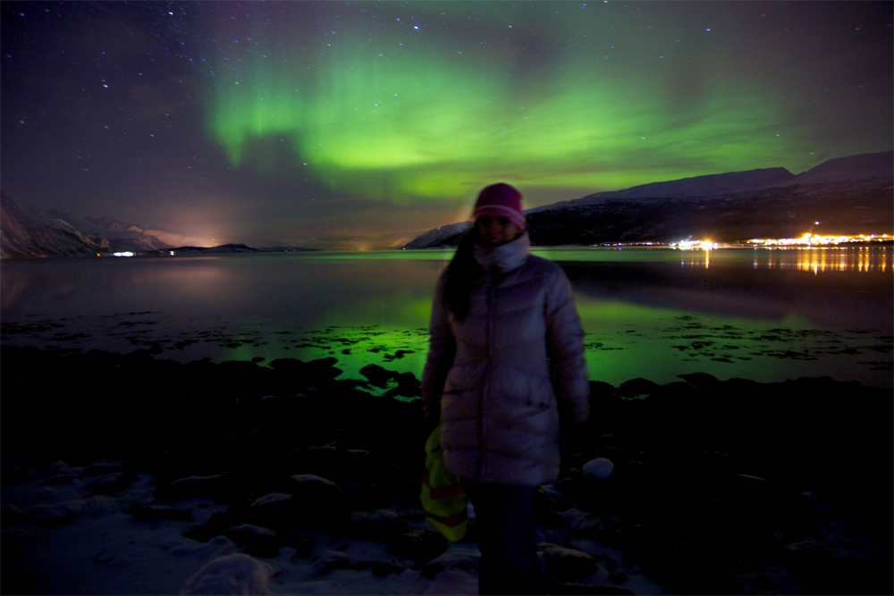 amber-northern-lights-norway