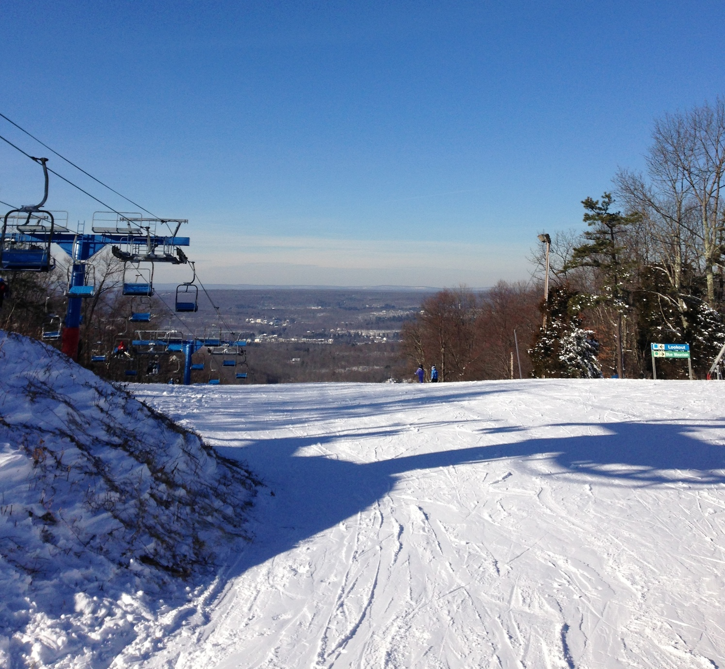 snowboarding at shawnee mountain ski area in the poconos