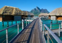 Four Seasons Resort Bora Bora in French Polynesia