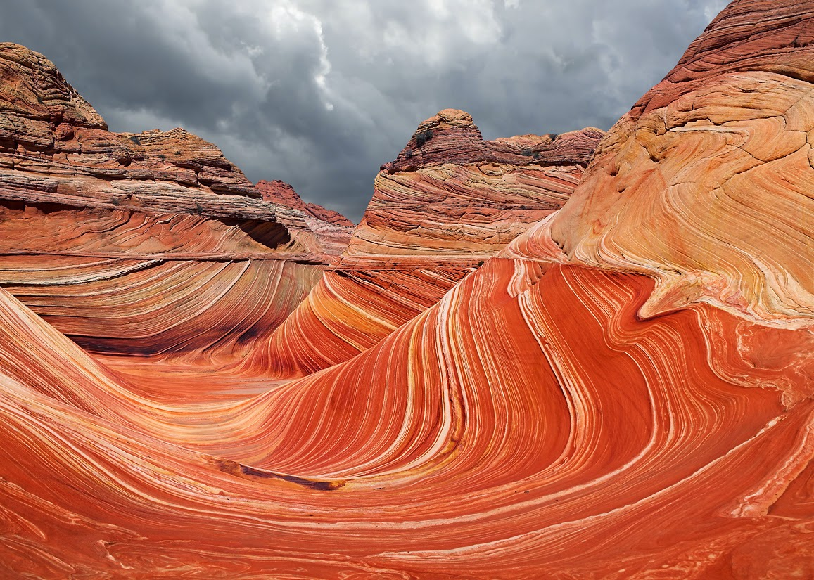 The Wave in Marble Canyon, Arizona