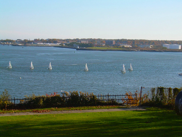 Eastern Promenade in Portland, Maine